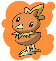 Torchic by Nintooner