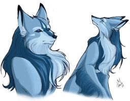 Leamen Wolf Form - Color by Thally