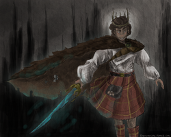 Mad King Ryan by marchqueen