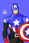 step up - captain america by samuraiblack