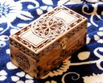Small Gothic Box (Chip-carving) by Theophilia