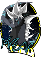 Badge Commission: Malak by S-Arcano