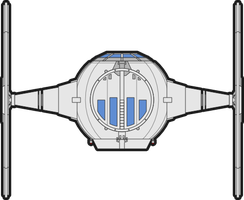 Rebels TIE Fighter (Rough) by Oriet