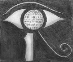 Eye of Horus by Totenvec