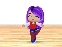 Athena Asamiya bailando by daigospencer