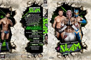 WWE Saturday Morning Slam October 2012 DVD Cover by Chirantha