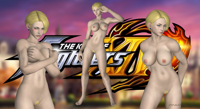 King (King of Fighters XIV) Nude Meshmod For XPS by cunihinx