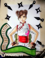 Tenten - The last naruto the movie by FDrawingss