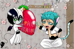 'Sharing' A Strawberry by Ephere