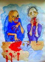 They ate our brains by anastiddleston