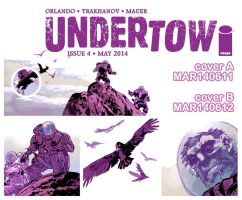 UNDERTOW#4 PRE-ORDER by OXOTHUK