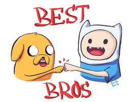 Best Bros For Life Man! by 4AllOfTheThingsImNot