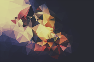 Free Polygonal / Low Poly Background Texture #7 by RoundedHexagon