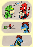 010315_0001: Mega Page 1 by BuizelKnight