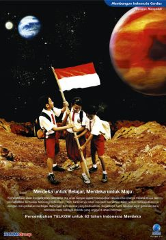 TELKOM Outer Space by creat3