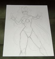 Scarlet witch wip 012411 by raccoon-eyes