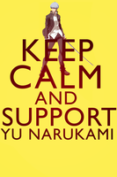 Keep Calm And Support Yu Narukami For PSASBR by otakusoul22