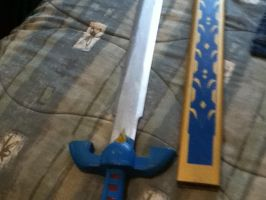 LoZ Master Sword by BigAl2k6