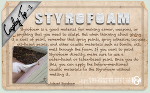 Cosplay Tip 1: Styrofoam by Bllacksheep