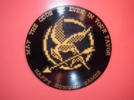 Hunger Games Wall Art by blargofdoom