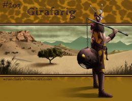 Girafarig Concept by Wraeclast