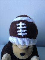 Football Baby Hat by holls