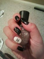 chanel nails by imUlzzang
