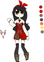 [ adoptable : red ] by sockjuice