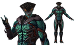 Javik Collector/Organic Armour for XPS by Just-Jasper