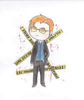 Lt. Horatio Caine Chibi by Ryuuzaki-L-spy-19