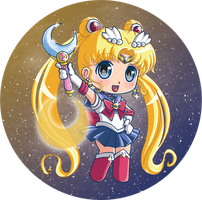 Sailormoon button by Hadibou