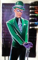 The Riddler by shaunriaz