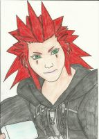 Axel, got it memorized!! by Draculsondevil