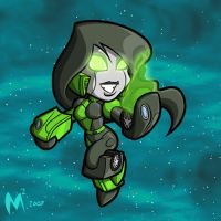 Commission - Shego by MattMoylan