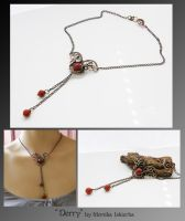 Derry- wire wrapped necklace by mea00