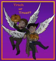 Trick or Treat by blackbirdrose