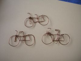 Bicycle wire doodle by Dinuguan