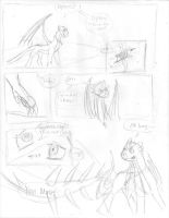 Page one (scetch) by Dragon-of-Faith