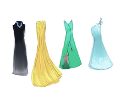Rise of the Guardians Dresses by Coco199