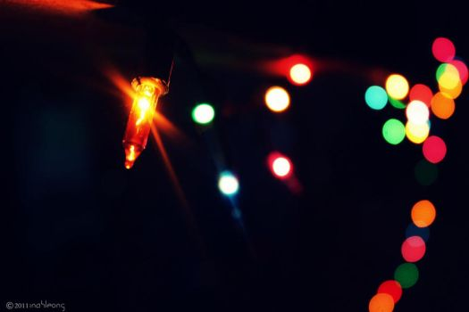 Christmas Lights by inahleong