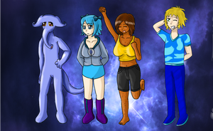 Sabithasuki Lineup by JHcolley