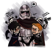 SW: Captain Phasma: The First Order's Only Hope by RedLex