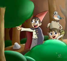 Over the garden wall by IceBreak23