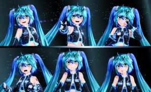 Miku Expressions by GS-Mantis
