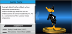 Wii U Trophy - Daffy Duck by MarcosPower1996