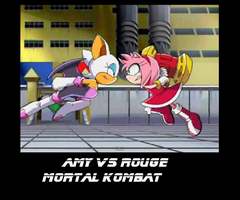 amy vs rouge by SARETTA98