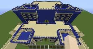 MineCraft Babylon - Gates of Ishtar by benjamin1995
