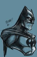 The Batman by colepetersonart