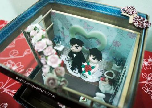 Wedding in a Gift Box by PLavender