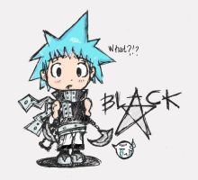 +Black Star Chibi+ by bLuPpErYpUp